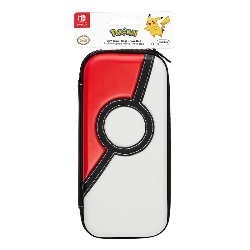 PDP Slim Travel Case - Poke Ball Edition For Nintendo Switch