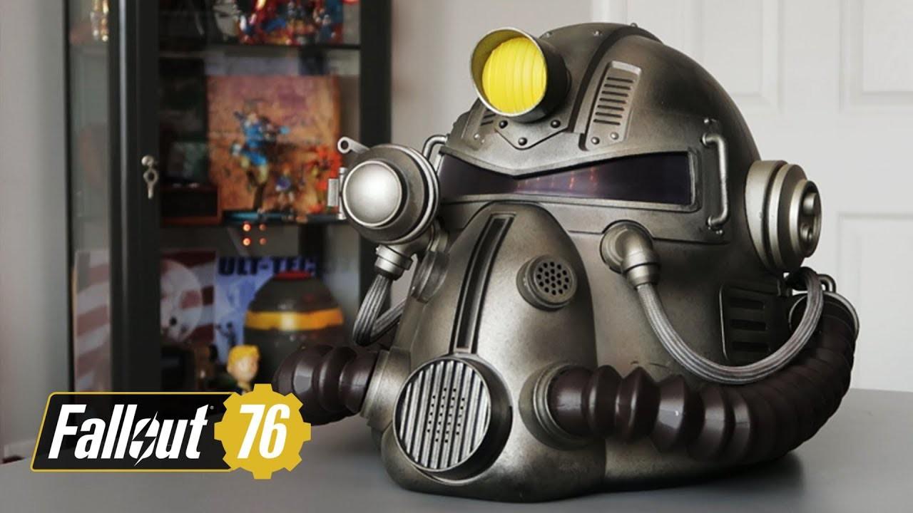 Fallout 76 - Power Armor T-51b helmet