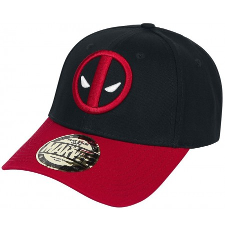 DEADPOOL - LOGO BASEBALL CAP BLACK/RED
