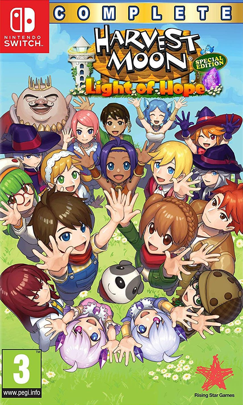 Harvest Moon: Light of Hope Complete Special Edition