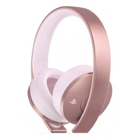 Sony PlayStation 4 Gold Wireless Headset Rose Gold