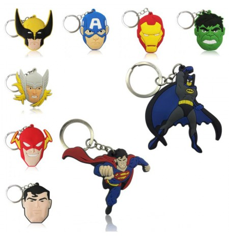 Marvel metal keychain
