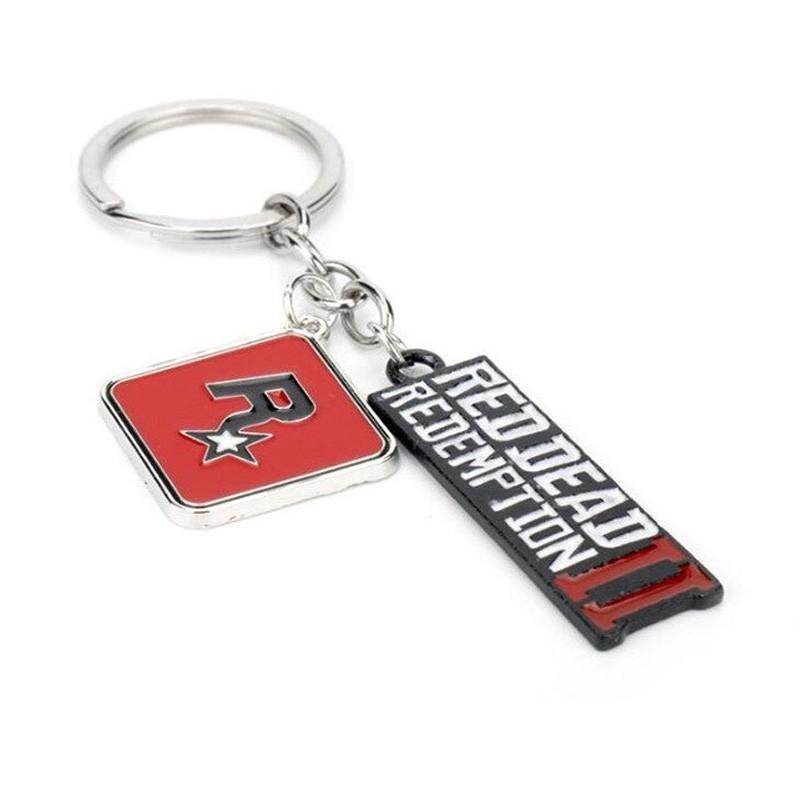 Red Dead Redemption 2 metal keychain