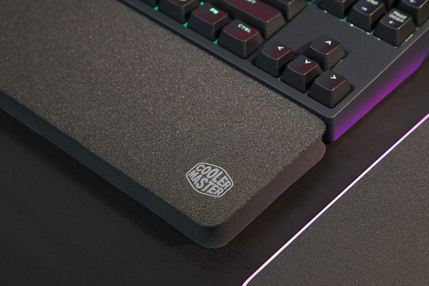 COOLER MASTER MASTERACCESSORY WR530 SIZE SMALL WRIST REST PAD FOR KEYBOARD