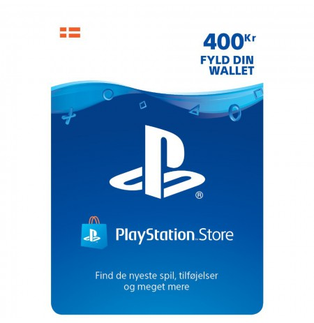 Playstation Network Card 400 DKK (Danija)