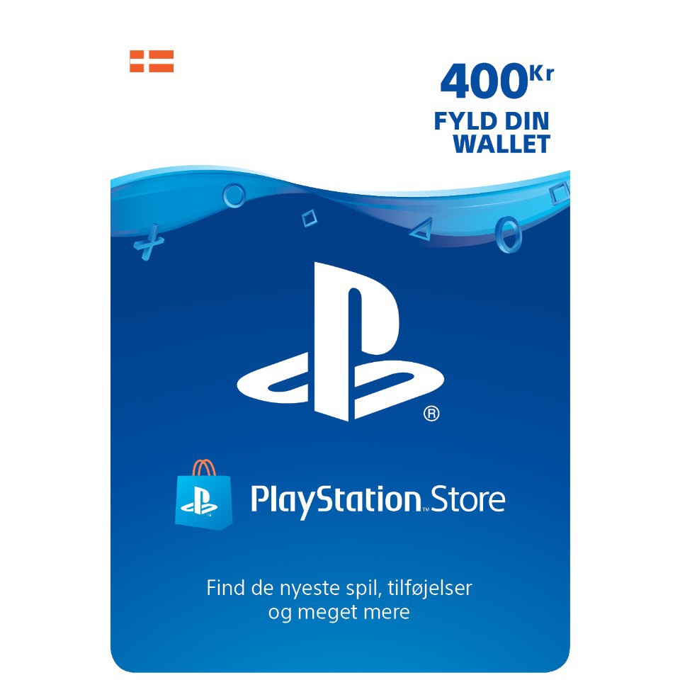 Playstation Network Card 400 DKK (Denmark)