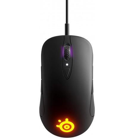 SteelSeries SENSEI TEN juoda laidinė žaidimų optinė pelė | 18000 DPI