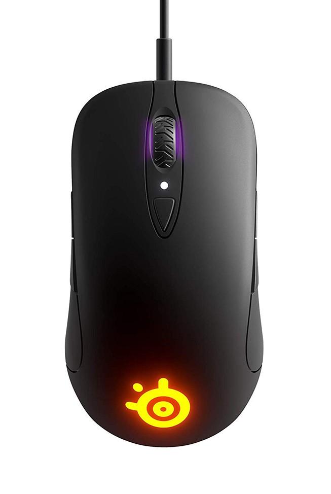 SteelSeries SENSEI TEN juoda laidinė žaidimų optinė pelė | 12000 DPI