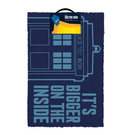 DOCTOR WHO - TARDIS doormat | 60x40cm