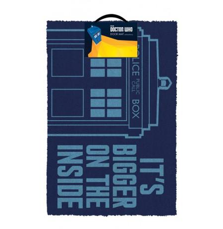 DOCTOR WHO - TARDIS durų kilimėlis| 60x40cm