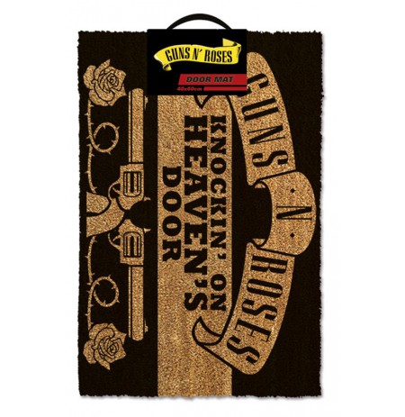 GUNS N ROSES - KNOCKIN ON HEAVENS DOOR doormat | 60x40cm