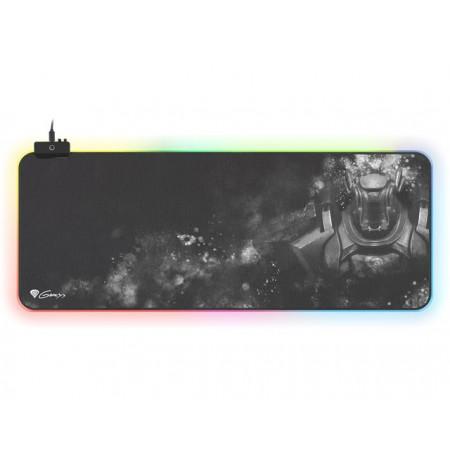 GENESIS BORON 500 XXL RGB šviečiantis pelės kilimėlis | 800x300x4mm