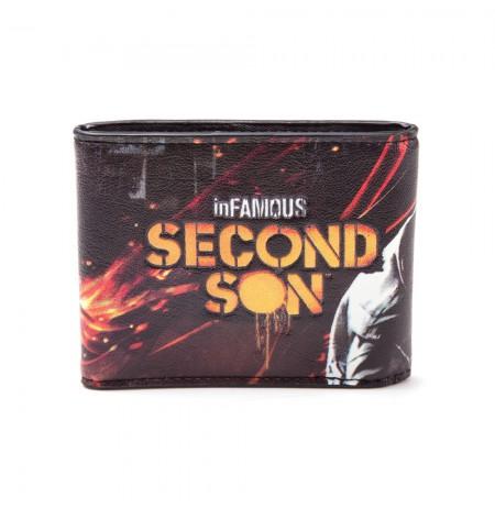 INFAMOUS: SECOND SON - LOGO piniginė