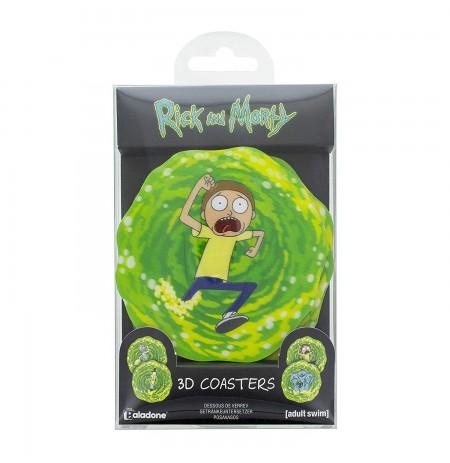 Rick and Morty 3D padėkliukai