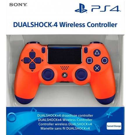 Sony PlayStation DualShock 4 V2 Controller - Sunset Orange