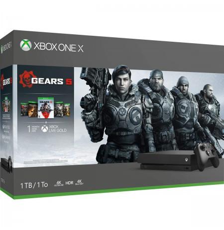 Xbox One X 1TB žaidimų konsolė su Forza Horizon 4 & Forza Motorsport 7
