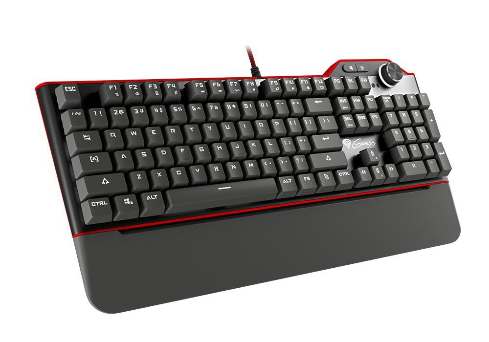 GENESIS RX85 mechaninė klaviatūra su baltu apšvietimu (US) (BLUE)