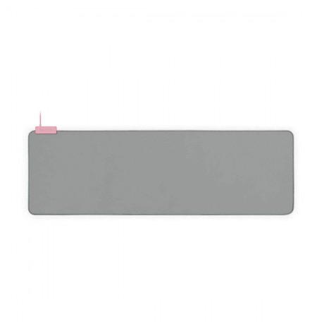 RAZER Goliathus Chroma Extended Quartz Pink 920x294x3mm minkštas šviečiantis pelės kilimėlis