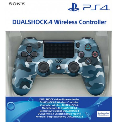 Sony PlayStation DualShock 4 V2 valdiklis - Blue Camouflage