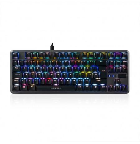 MODECOM VOLCANO LANPARTY V2 RGB žaidimų klaviatūra BROWN US
