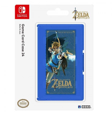 HORI Zelda Breath of the Wild Version Game Card Case 24 for Nintendo Switch