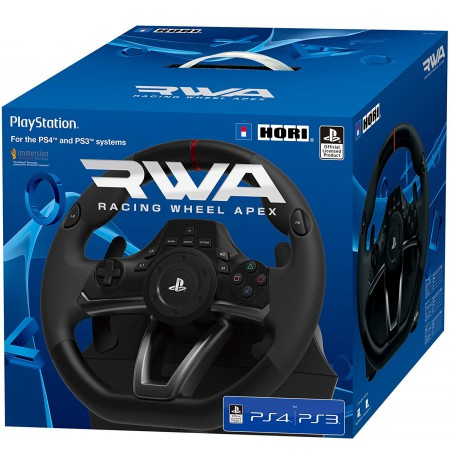 HORI  RWA Racing Wheel Apex controller Licensed by Sony | PS3/PS4/PC