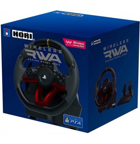 HORI  RWA Racing Wheel Apex wireless controller Licensed by Sony | PS4/PC