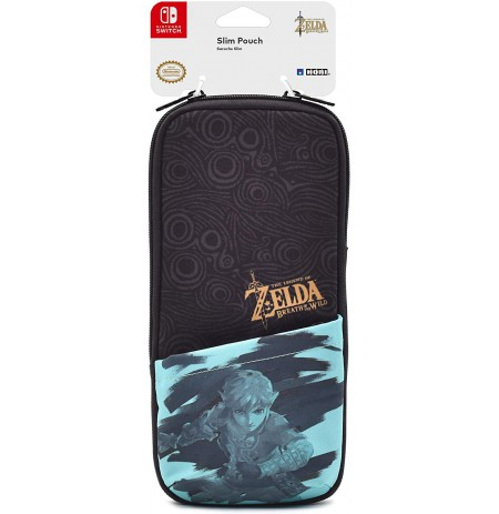 HORI Slim Pouch for Nintendo Switch - the Legend of Zelda: Breath of the Wild Edition