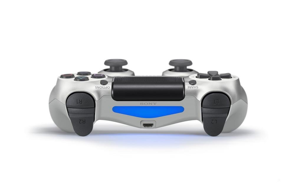 Sony PlayStation DualShock 4 V2 Controller - Silver