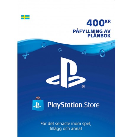 Playstation Network Card 400 SEK (Sweden)