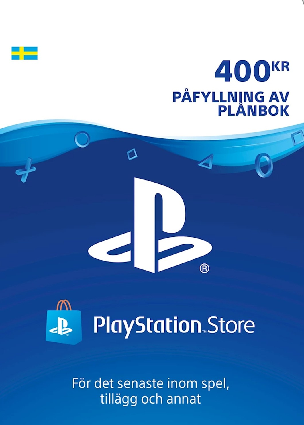 Playstation Network Card 400 SEK (Švedija)