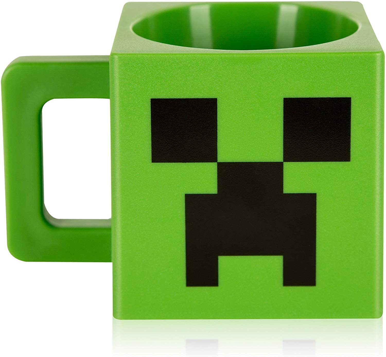 Minecraft Creeper puodukas