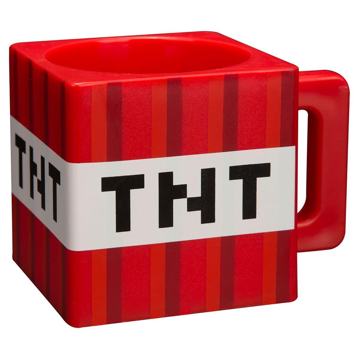 Minecraft TNT puodukas