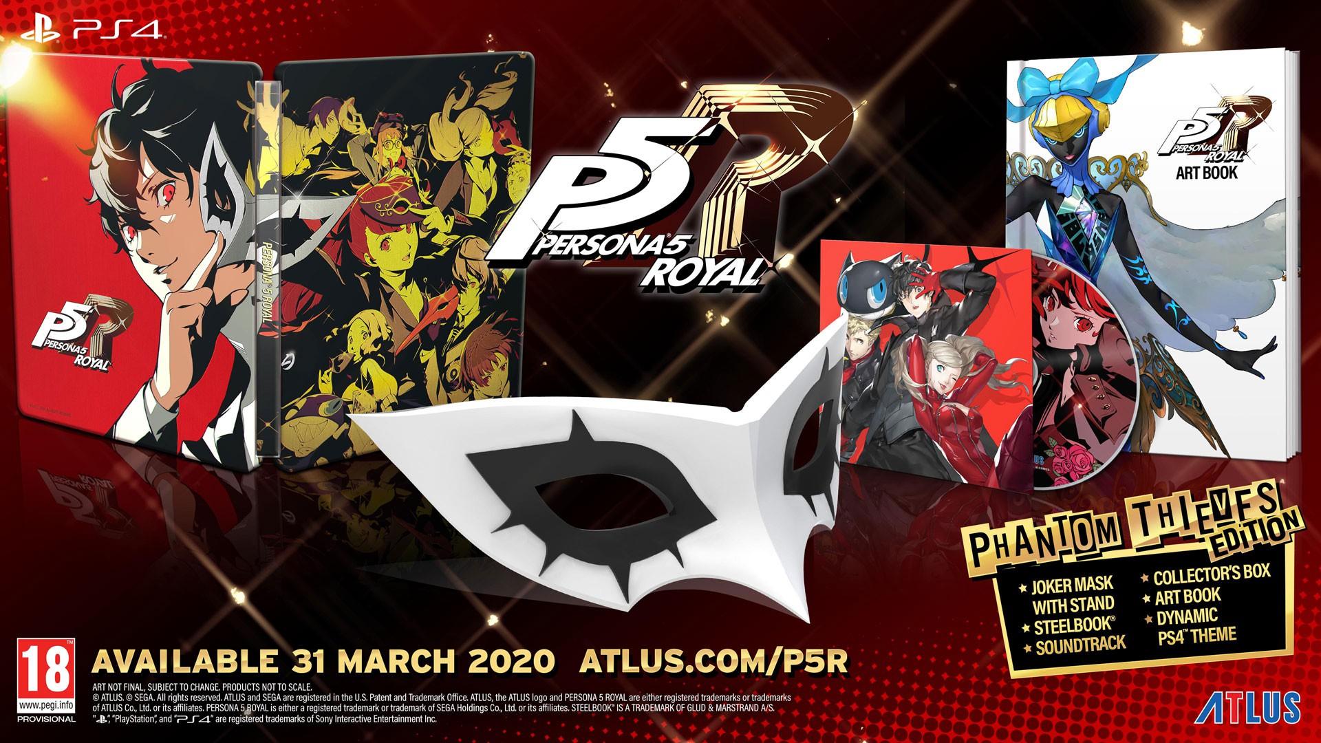 Persona 5 Royal Launch Phantom Thieves Edition