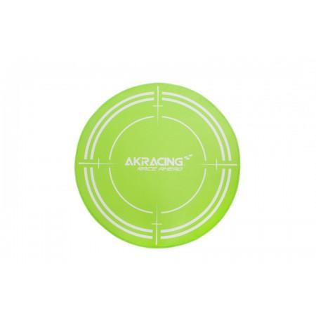 AK Racing Floormat Green grindų kilimėlis