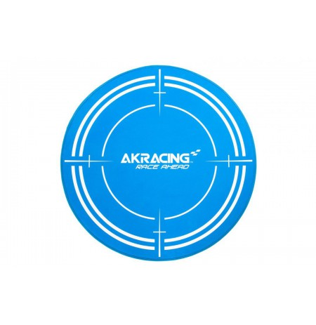 AK Racing Floormat Blue grindų kilimėlis | diametras 99.5cm