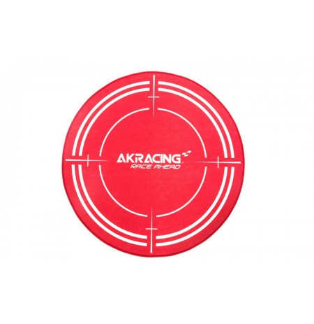 AK Racing Floormat Red grindų kilimėlis | diametras 99.5cm