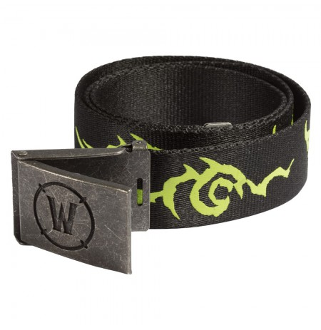 WORLD OF WARCRAFT LEGION LOGO BELT L/XL