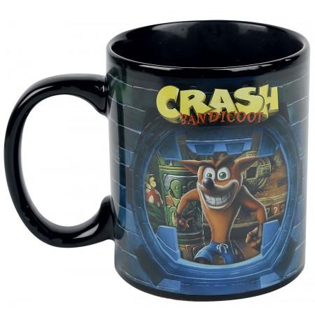 Crash Bandicoot 460 ml heat change mug