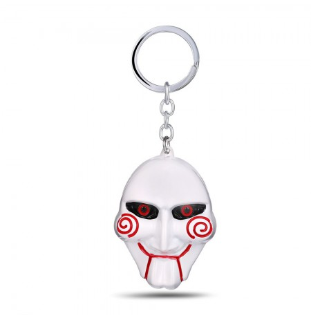SAW Movie metal keychain