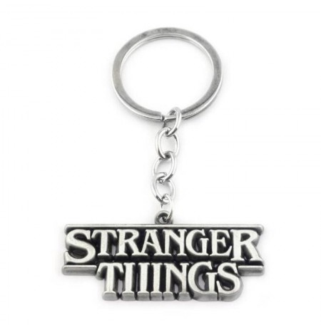 Stranger Things metal keychain