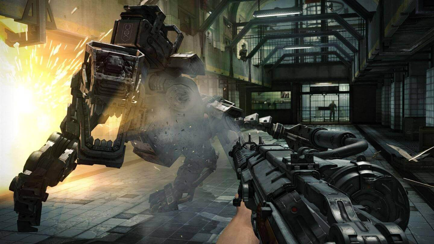 Wolfenstein The New Order and The Old Blood Double Pack