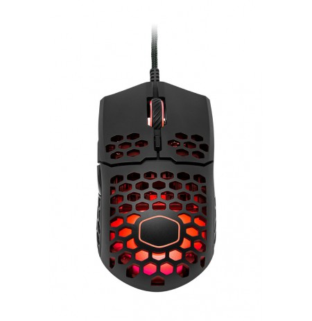 GAMING MOUSE COOLER MASTER MM711 LIGHT MOUSE 16000DPI WITH RGB MATTE BLACK
