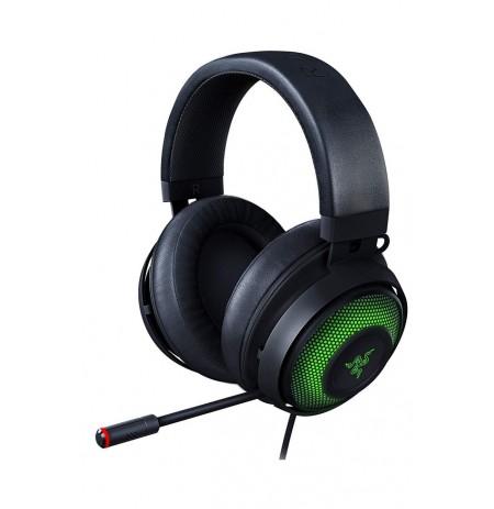 RAZER KRAKEN ULTIMATE juodos laidinės ausinės su mikrofonu THX 7.1 | USB