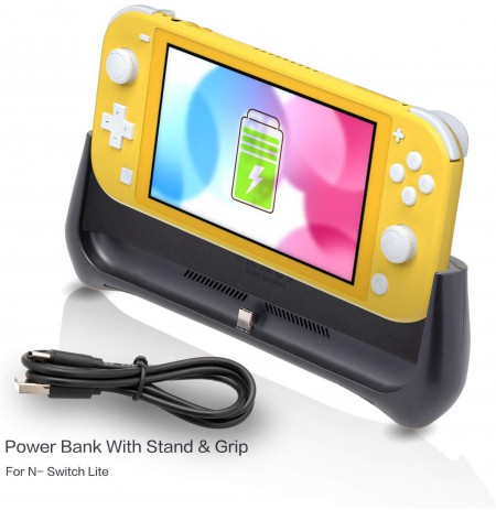 Hard Protective Case with Powerbank 8000mAh for Nintendo Switch Lite