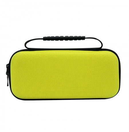Nintendo Switch Lite Nylon carry bag with strap (black/yellow)