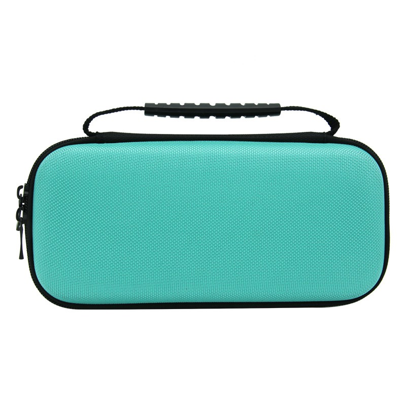 Nintendo Switch Lite Nylon carry bag with strap (black/turquise)