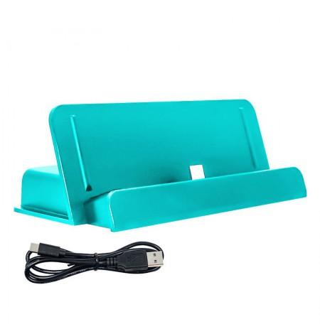 Nintendo Switch Lite pakrovimo stovas (juoda-turkio)