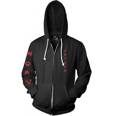 ANTHEM FLYING HIGH ZIP-UP HOODIE Large