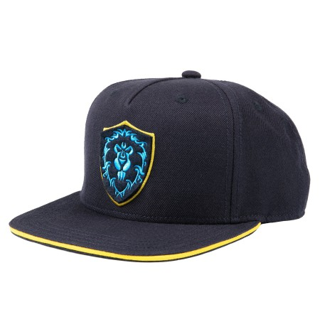 WORLD OF WARCRAFT 15TH ANNIVERSARY ALLIANCE SNAPBACK HAT
